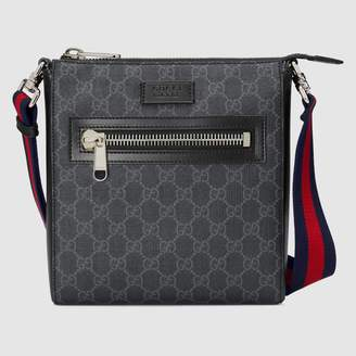 At Gucci Gg Supreme Small Messenger Bag