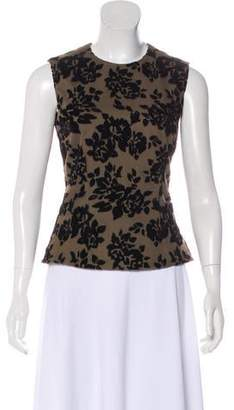 Mary Katrantzou Floral Pattern Sleeveless Top