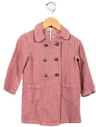 Babe & Tess Girls' Woven Duster Coat w/ Tags