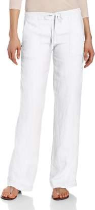 Michael Stars Women's Linen Drawstring Wide Leg Pant