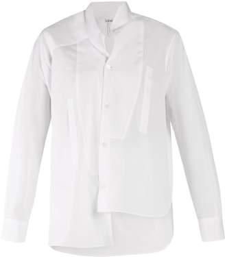 Loewe Asymmetric bib shirt