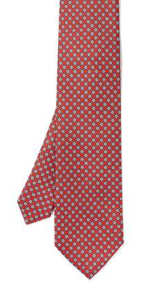 J.Mclaughlin Italian Silk Tie in Mini Square