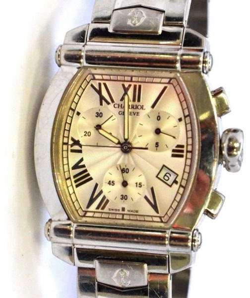 Charriol Charriol Columbus 060T2 Chrono Mother Of Pearl Dial 34mm Unisex Watch