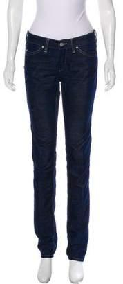 Isabel Marant Printed Straight-Leg Jeans
