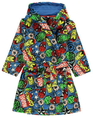 George Marvel Comics Superhero Nightgown