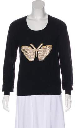 Sonia Rykiel Cashmere Embellished Sweater