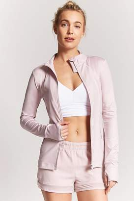 Forever 21 Active Zip-Front Jacket