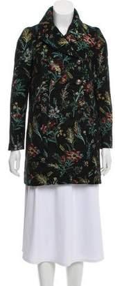 BA&SH Floral Short Coat