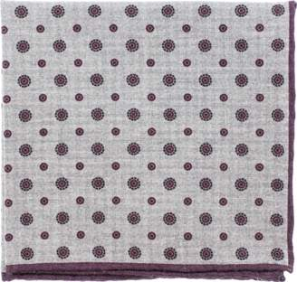 Eleventy Pocket Square With Circles
