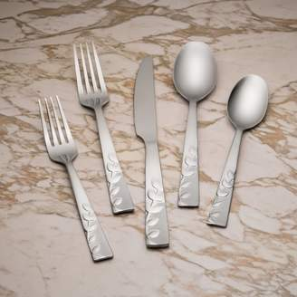 Cambridge Silversmiths Blossom Sand 20 Piece Flatware Set, Service for 4