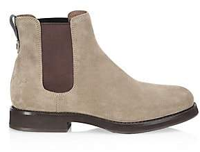 Brunello Cucinelli Women's Two-Tone Suede Chelsea Boots