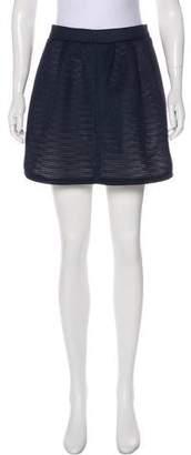 MAISON KITSUNÉ Mini Flared Skirt