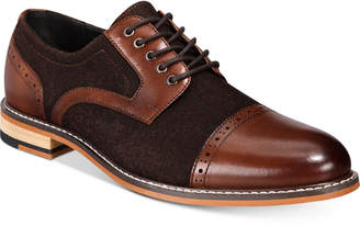 Bar III Men's Frankie Perforated Oxfords