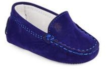Baby's Gommini Suede Moccasin Loafers $145 thestylecure.com