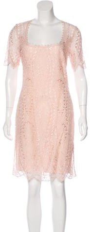 Emilio Pucci Emilio Pucci Short Sleeve Lace Dress w/ Tags