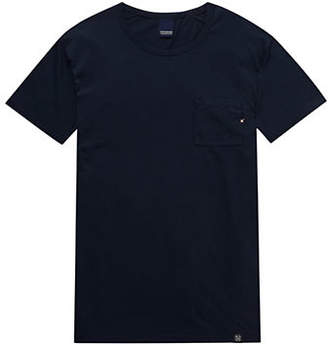 Scotch & Soda Short-Sleeve Knitted Cotton T-Shirt