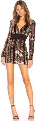 NBD Star Treatment Mini Dress
