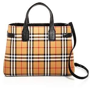Burberry Vintage Check Medium Banner Bag