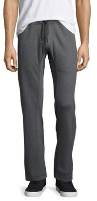 Peter Millar Walker Heather Lounge Pants, Charcoal $98 thestylecure.com