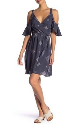 O'Neill Cecilia Cold Shoulder Wrap Dress
