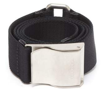 Burberry Nylon Webbing Belt - Mens - Black