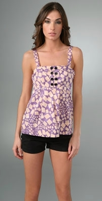 Marc by Marc Jacobs Confetti Print Top