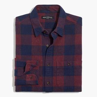 J.Crew Rugged elbow-patch shirt in gingham