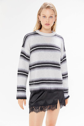 Urban Outfitters Bobby Boyfriend Striped Crew-Neck Sweater