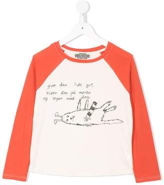 Bobo Choses printed baseball T-shirt