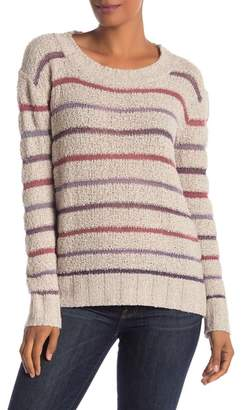 Susina Stripe Knit Boucle Sweater (Petite Available)