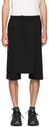 Song For The Mute Black Elasticated Skort