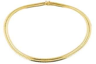 Tiffany & Co. Double Omega Necklace