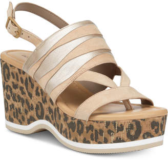 Donald J Pliner Valri Wedge Sandals Women Shoes