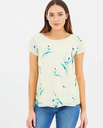 Wallis Summer Drop Floral Top