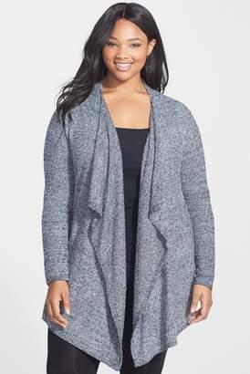 Barefoot Dreams R) CozyChic Lite(R) Calypso Wrap Cardigan (Plus Size) (Nordstrom Exclusive)