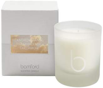 Bamford Candied Orange Single Wick Candle 140g