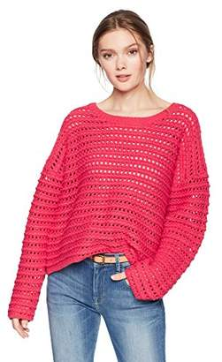 Cable Stitch Women's Crochet Stitch Pullover Sweater