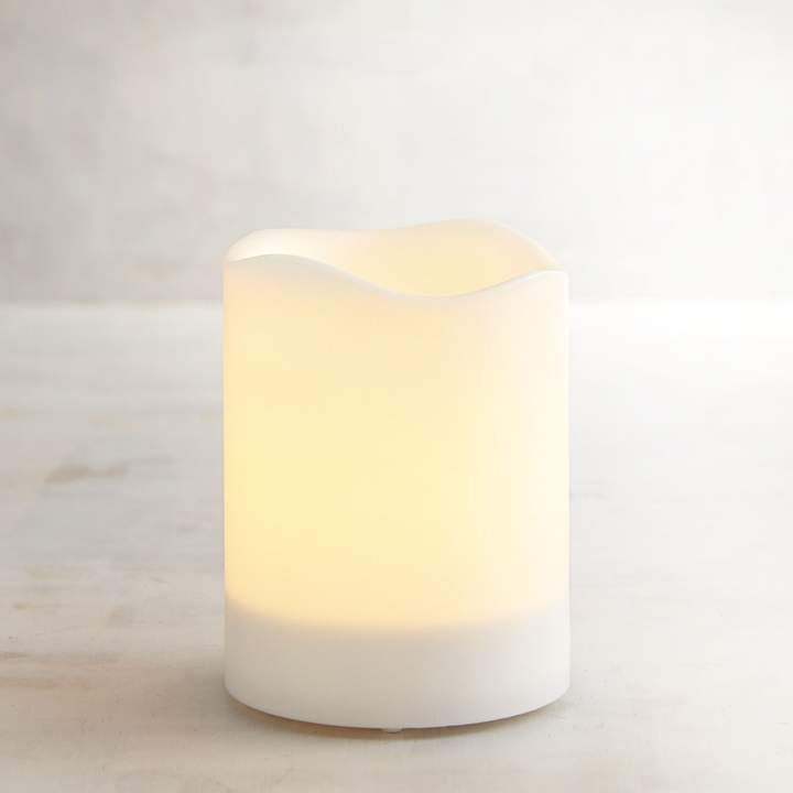 Deco Wick 3x4 Outdoor LED Pillar Candle