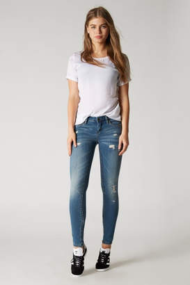 Blank NYC Light-Wash Distressed Skinny