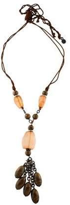 Giorgio Armani Long Bead Necklace