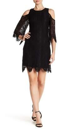 Tart Lilou Crochet Lace Cold Shoulder Dress