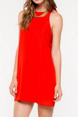 Everly Katie Ruffle Dress $59 thestylecure.com