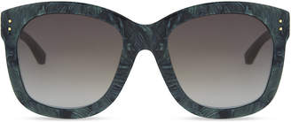Linda Farrow Lfl513 oversized sunglasses