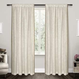 Beachcrest Home Denton Solid Sheer Rod Pocket Curtain Panels
