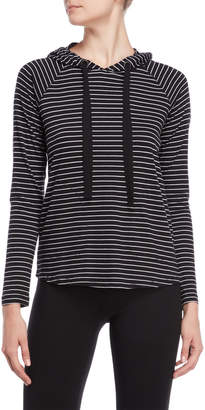 Kenneth Cole Stripe Pullover Hoodie