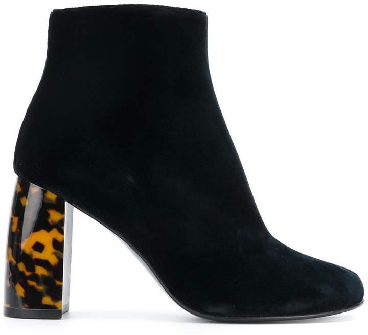 Stella McCartney velvet ankle boots