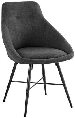 Walker Edison Furniture Company Urban Upholstered Side Chairs, Set of 2