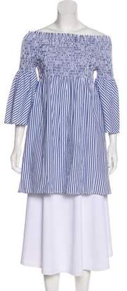 Sanctuary Striped Off-The-Shoulder Dress w/ Tags