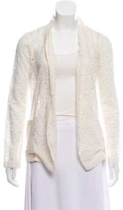 Roseanna Eyelet Open Front Cardigan w/ Tags