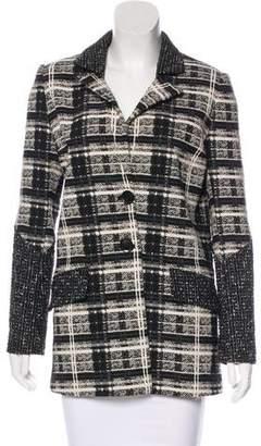 Marissa Webb Jacquard Button-Up Jacket